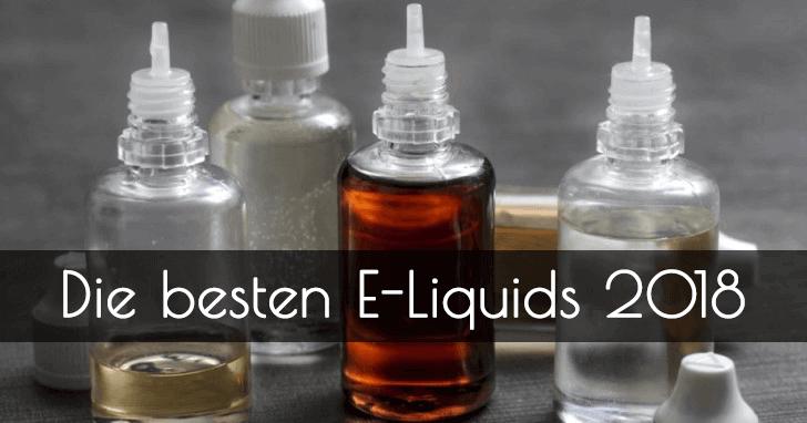 Die besten e-liquids 2018